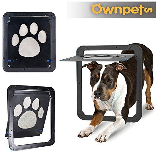 OWNPETS Dog Screen Door, Lockable Pet Screen Door, Magnetic Self-Closing Screen Door with Locking Function, Sturdy Screen Door for Dog Cat by OWNPETS (Image #8)