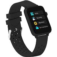 BINDEN Smartwatch Bwatch Pro Reloj Inteligente, Notificaciones, Resistente IP68, Salud, Carátulas Personalizables…