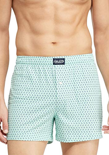 Polo Ralph Lauren Men`s Cotton Modal Boxer (Athens Green Paisley(L206SR), Medium)