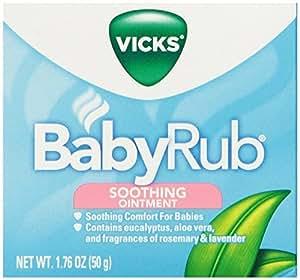 VICKS BABY RUB 50 GM, 1.76 oz