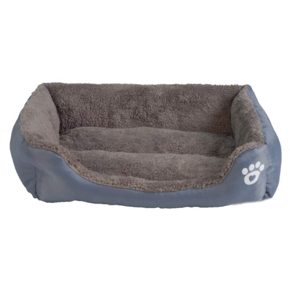 Amazon.com : MHGStore Pet Sofa Dog Beds Waterproof Bottom Soft Fleece Warm Cat Bed House Petshop Cama Perro (S, Gray) : Pet Supplies
