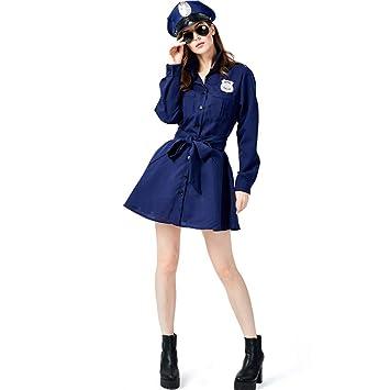 Amazon.com: QZ - Disfraz de policía para mujer, diseño sexy ...