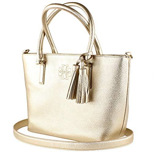 Tory Burch Gold Handbag - 9