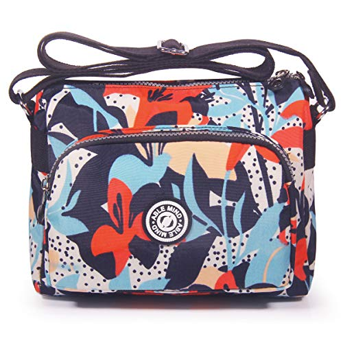 37dc40fc3f52 ABLE Women Anti Splash Water Shoulder Messenger Crossbody Bags. by able.  Colour  1-calla Lily Flower