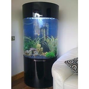 column cylinder aquarium fish tank jy 700 260l amazon. Black Bedroom Furniture Sets. Home Design Ideas