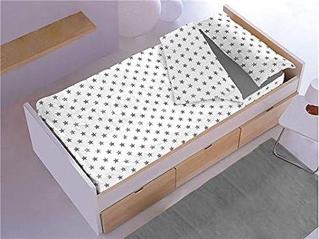 Denisa Home Saco Nórdico Estrellas Sin Relleno Ideal para Literas o Camas Nido de 90cm: Amazon.es: Hogar