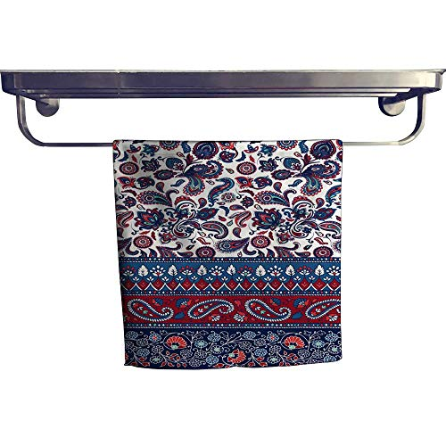 Leigh home Dry Fast Towel,Stripe Wallpaper Ornamental Border ,Gym Swim Hotel Use W 20
