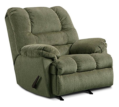 United Furniture Simmons Upholstery U600-19 Zig Zag Pewte...