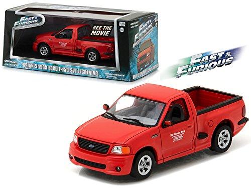 Brian's 1999 Ford F-150 SVT Lightning Pickup Truck Red