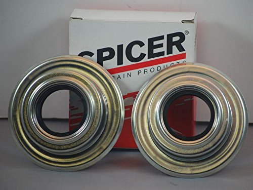 Dana Spicer Super 60 Front Axle Dust Seals Compatible With Ford Super Duty F350 F250