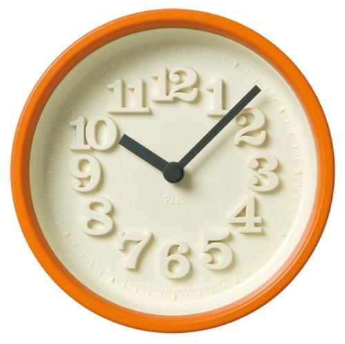 Lemnos 小さな時計 オレンジ WR07-15 OR B000YPVM94 オレンジ オレンジ