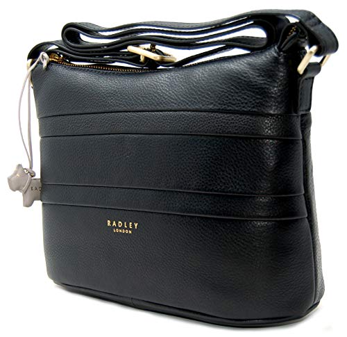 Across 'Berwick Leather Black Body Top Bag Zip Street' Radley HExqgwPfg