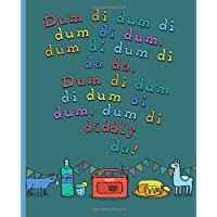 Dum di dum Archers Lined Notebook: A Lined notebook for journals, passwords, addresses, creative ideas & gin note-taking.
