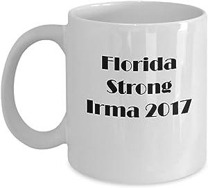 Florida Strong We Survived Hurricane Irma 2017 Coffee Mug