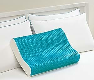 Amazon Com Lux Living Memory Foam Lux Gel Contour Pillow