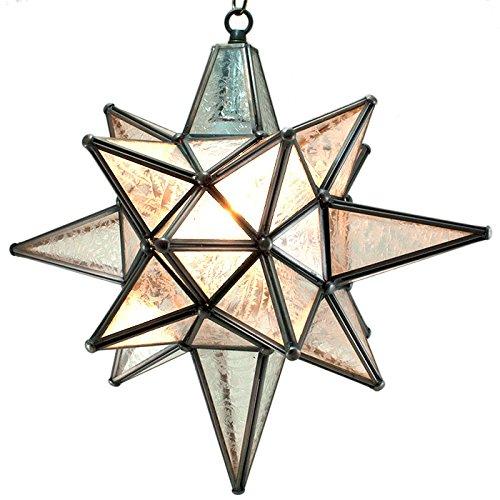 Bethlehem Moravian Pendant Glass Bronze