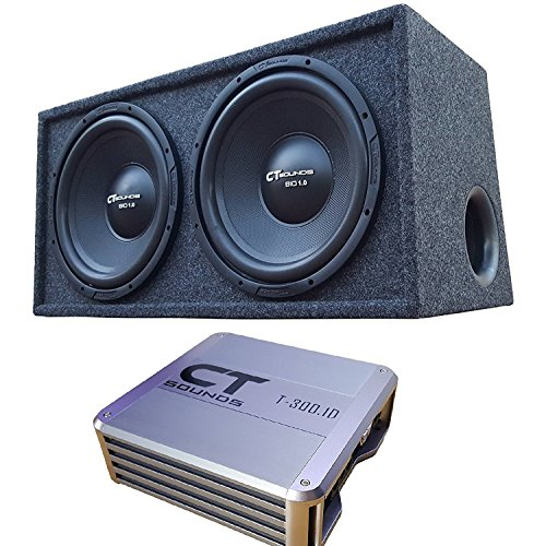 CT Sounds Subwoofer Package Amplifier product image