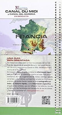 Canal du Midi y Canal del Garona: El Canal de los Dos Mares en Bicicleta Bici:map: Amazon.es: Horvath Mardones, Valeria, Datcharry, Bernard, Horvath Mardones, Valeria, Datcharry, Bernard: Libros