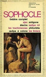 Theatre complet par  Sophocle