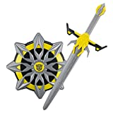 Transformers Bumblebee The Last Knight Hasbro Toy Sword with Awesome Battle Sound Effects and Shield Battle Pack