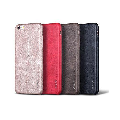 Apple iPhone ® 6 / 6s 4,7 Zoll Schutz Hülle - Aus hartem PU PC – Nur X,Xmm dünn - Schützt vor Schmutz und Kratzern - Dark Brown