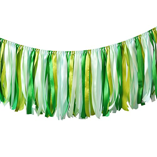 Colorful Ribbon Tassel Garland Party Decorations