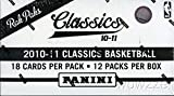 2010/11 Panini Classics NBA Basketball MASSIVE Jumbo Rack Box with 216 Cards! Look for RC Cards and Autographs from John Wall,Jeremy Lin,Paul George and all the Top 2010 NBA Draft Picks !