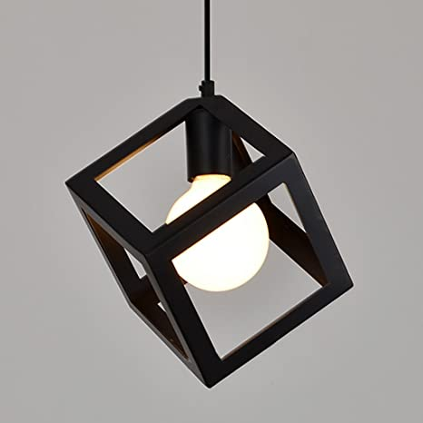 Buy antique vintage cube pendant lights with antique edison filament antique vintage cube pendant lights with antique edison filament bulb aloadofball Choice Image