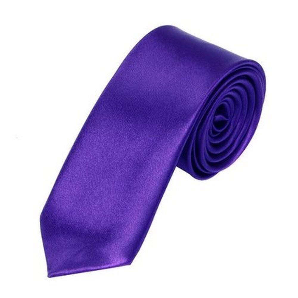OM3 - Corbata - para hombre morado violeta talla única: Amazon.es ...