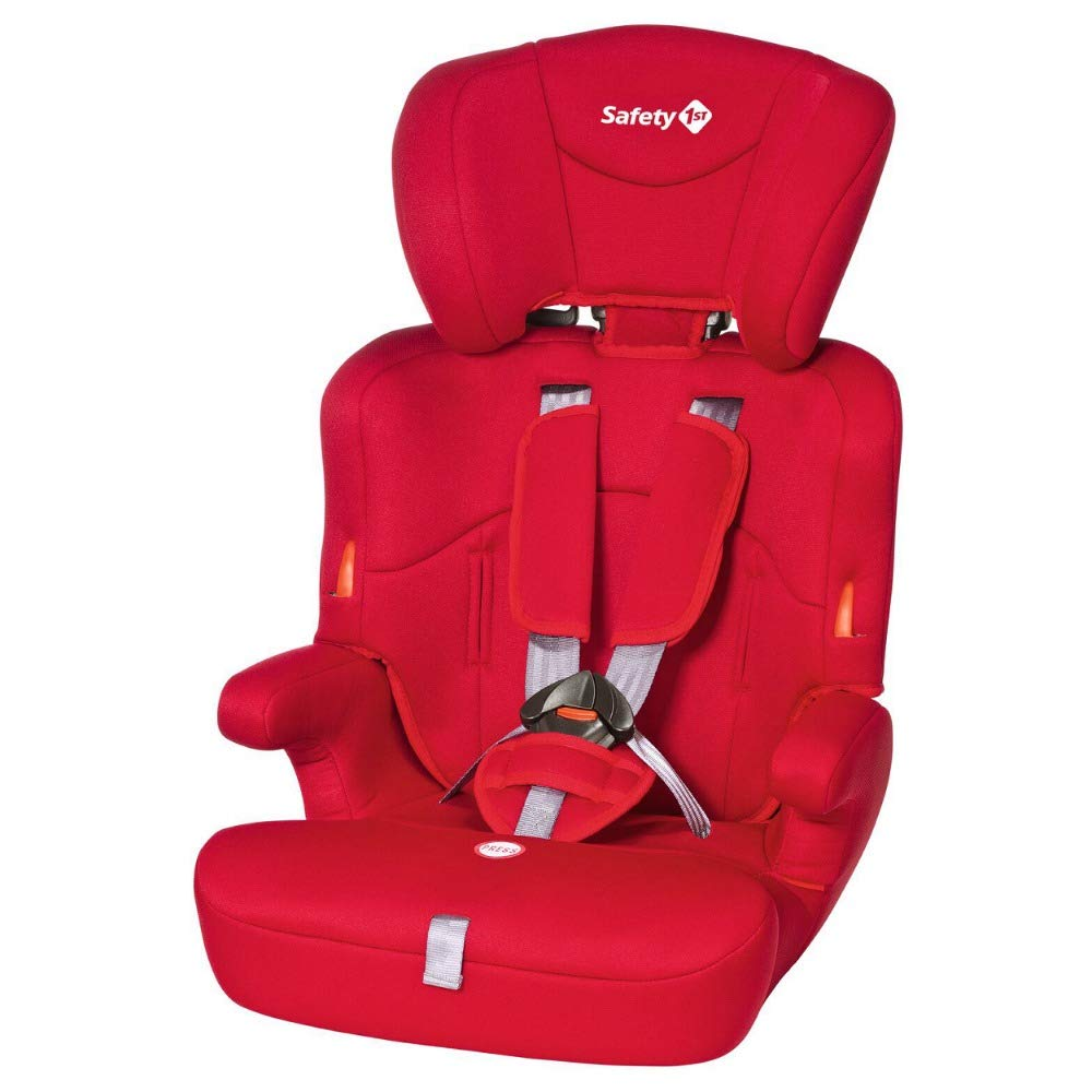 Safety 1st Ever Safe 9 Meses-12 a/ños, 9-36 kg de Grupo 1//2//3 color gris Silla de Coche para Ni/ños