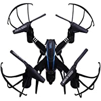 Howley SKRC D20W WiFi FPV 2MP Camera 2.4GHz 4 Channel 6 Axis Gyro Quadcopter 3D Rollover Helicopter (Black)