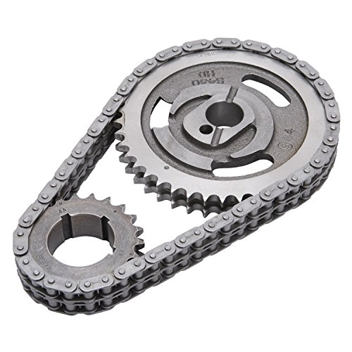 (Edelbrock 7811 Performer-Link Timing Chain and Gear Set)