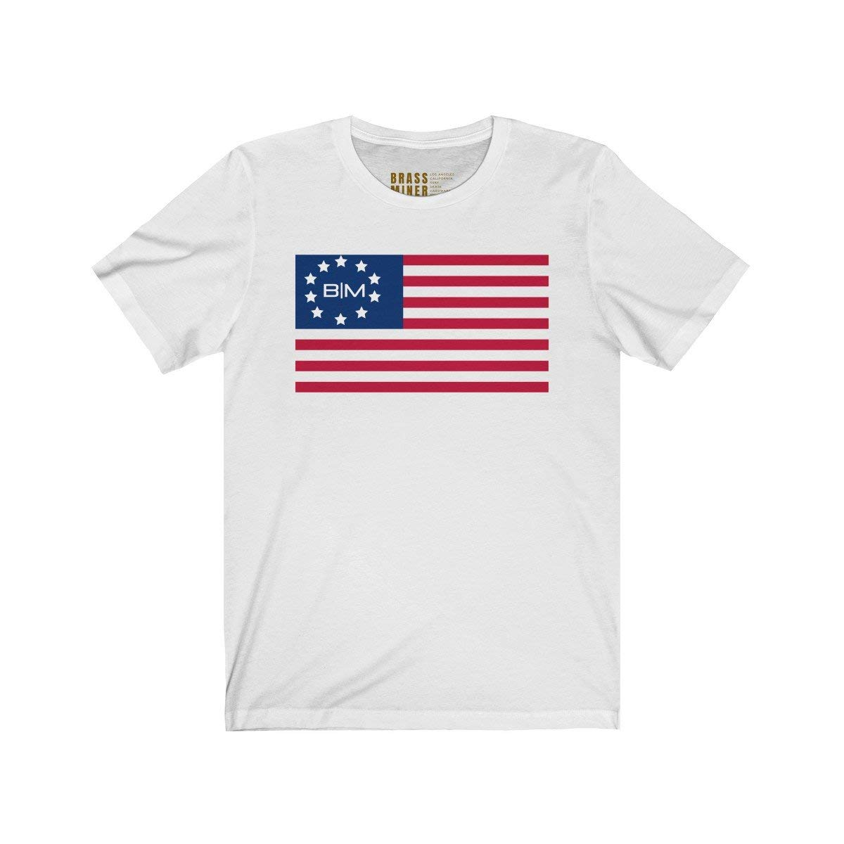 Brass and Miner Patriot T-Shirt