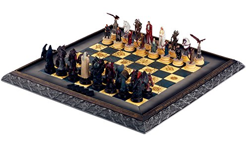 Eaglemoss Lord of the Rings Chess Collection Complete (Rings Chess Set)