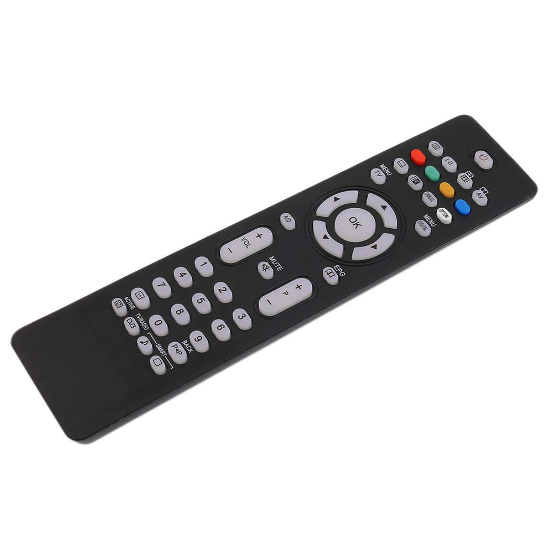 Candyboom Professional Stock Great Sostitutions RC2034301-01 Telecomando per Philips TV Black Big Promotion