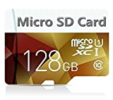 Generic Micro Sd Card 128gb, High Speed 128GB Micro SD SDXC Card Class 10 with Free Adapter
