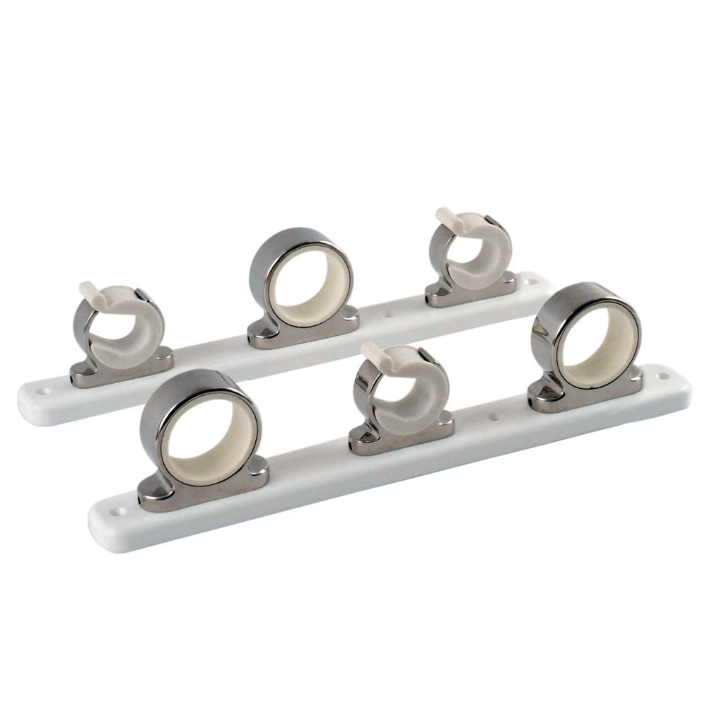 Taco Metals 3-Rod Stainless Steel/Delrin Rod Hanger Rack by Taco Metals