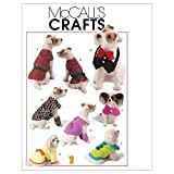 McCall's Patterns M5998 Pet Clothes, All Sizes
