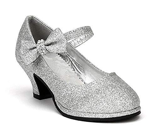 OLIVIA KOO Girls Patent Bow Mary Jane Shoes (Size 9-Y4)