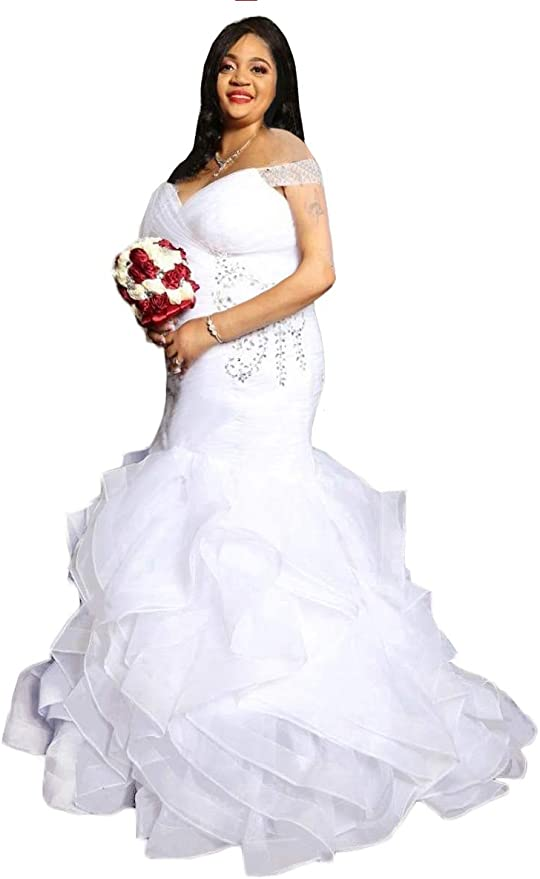 .  Plus Size Wedding Dress