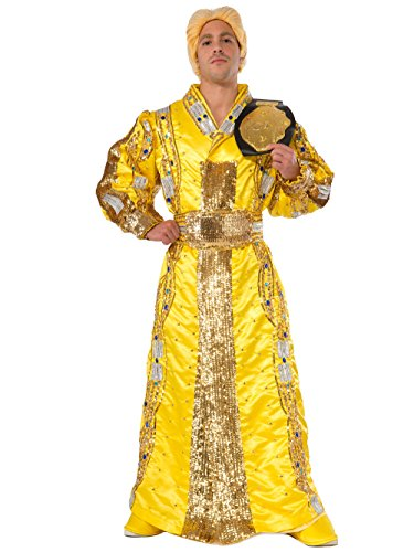 Rubie's Costume Co Men's WWE RIC Flair Grand Heritage Costume, Multi, (Yellow Wrestling Costume Boots)