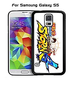 Galaxy S5 Funda Case Japanese Anime Naruto logo ,popular design Scratch-Proof compactable with Samsung Galaxy S5 i9600