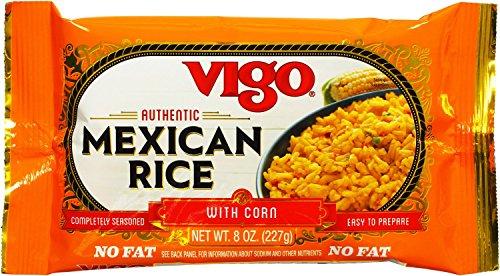 Vigo Mexican Rice, 8-Ounce Pouches (Pack of 12)