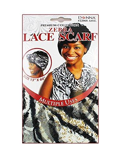 Premium Collection Zebra Lace Scarf