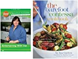 """Barefoot Contessa Collection: """"Entertaining With Ina"""" 3-DVD Set & The Barefoot Contessa Cookbook"""