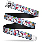 Best Buckle Down Little Girl Movies - Buckle-Down Seatbelt Belt - Hello Kitty in Clouds Review