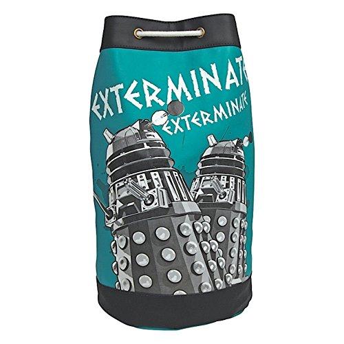Retro Doctor Who Daleks Ausrotten Duffle Tasche