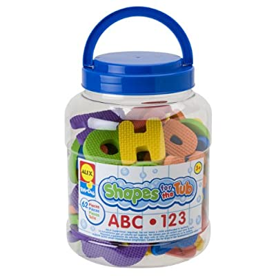 ALEX Toys Shapes For The Tub ABC & 123: Toys & Games