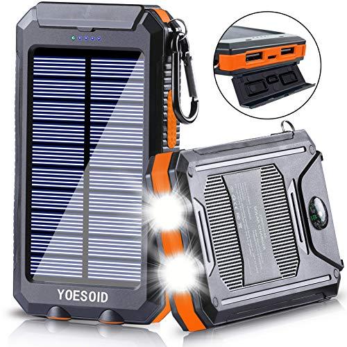 Solar Charger 20000mAh YOESOID