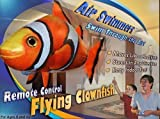 William Mark 7168 Air Swimmers Remote Control Flying Clownfish & Shark Combo, 2 Pack